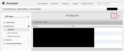 App IDs