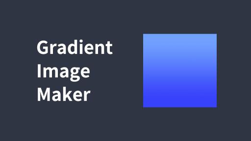 Gradient Image Maker(グラデーション画像メーカー)