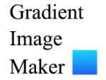 グラデーション画像を簡単に自動生成できる「Gradient Image Maker」を作りました