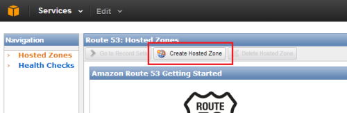 Create Hosted Zone