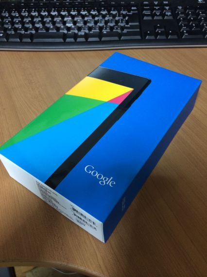 Nexus7 箱つき