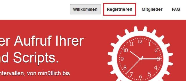 cron-job.org register