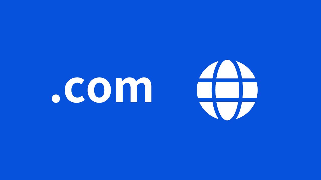 .com ドメイン