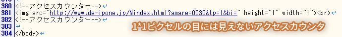 LINEチャット見えないアクセスカウンタ