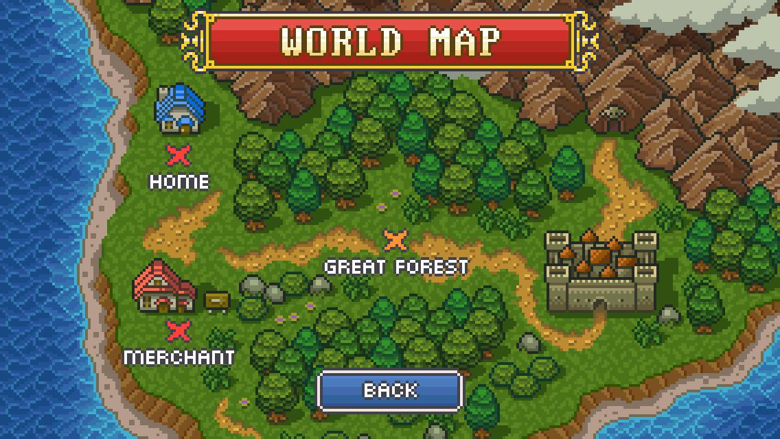 Goblin Sword ワールドマップ