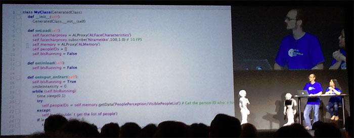 Pepper リモートプログラミング