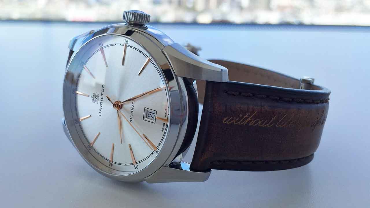 best cheap 1f936 07287 ハミルトンの腕時計「SPIRIT OF LIBERTY AUTO」を購入した5つの ...