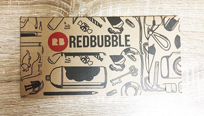 Redbubble 到着した封筒