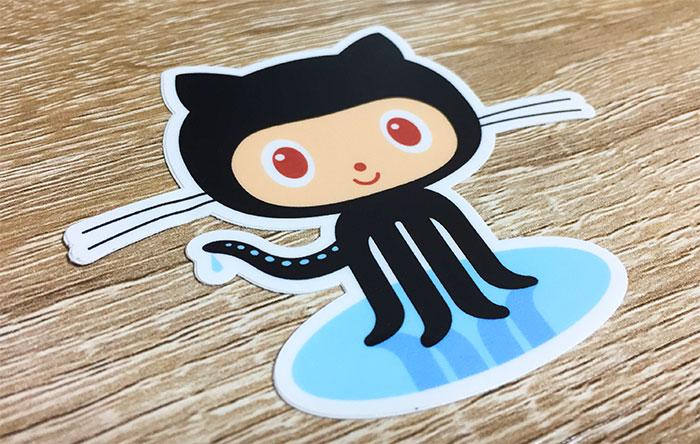 StickerMule Octocatサンプル