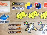 StickerMule マーケットプレイス 購入したステッカー