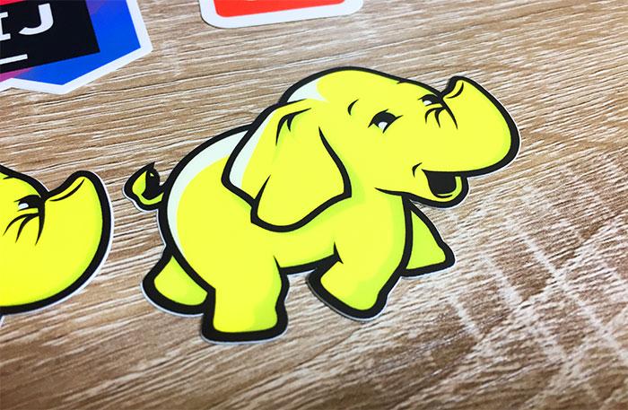 StickerMule マーケットプレイス Hadoopステッカー