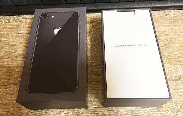 iPhone8 開封