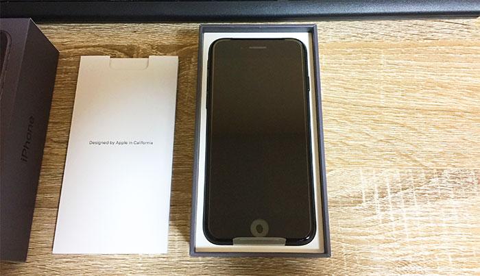 iPhone8 開封・ご対面