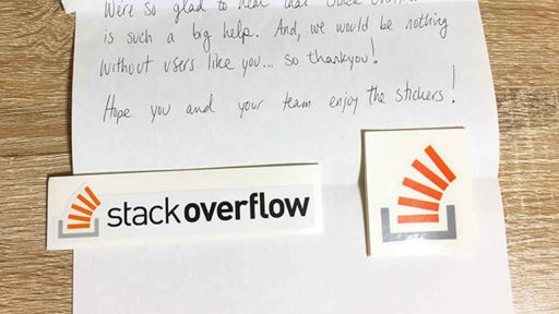 Stack Overflow ステッカー