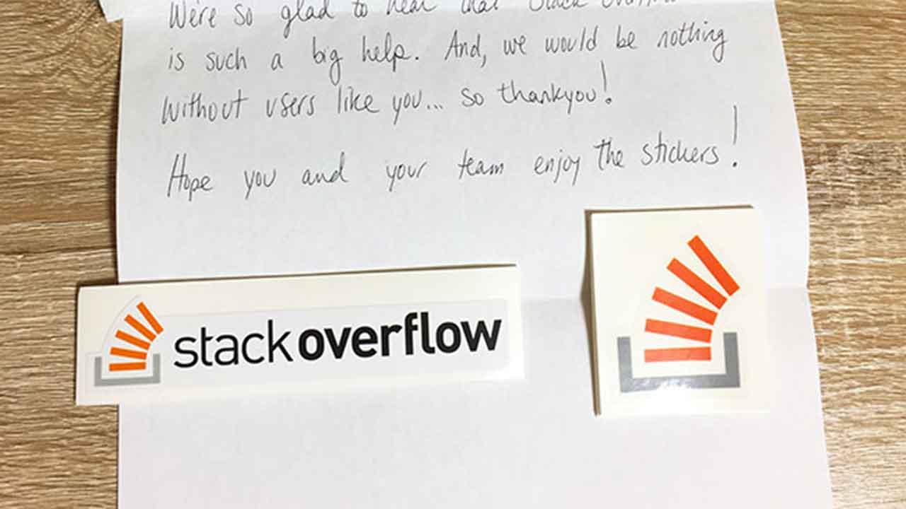 Stack Overflow ステッカー