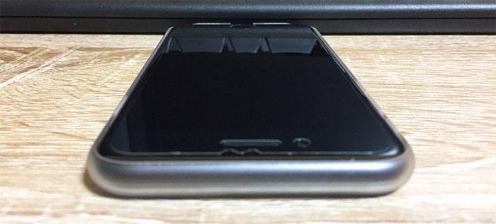 エアージャケットセット for iPhone8/7  上部