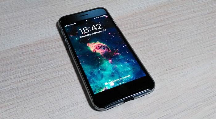 iPhone 復帰完了