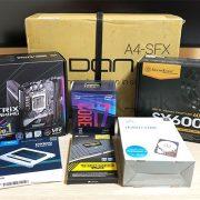 DAN Cases A4-SFX とパーツ
