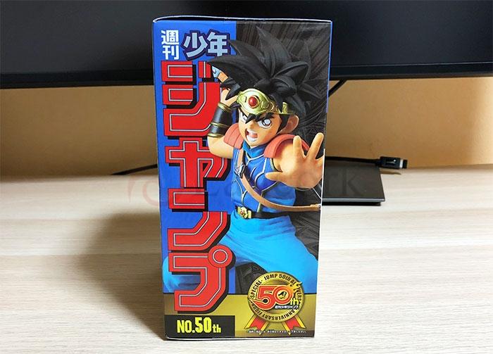 週刊少年ジャンプ50周年アニバーサリーフィギュア SPECIAL 3 「ダイ」外箱サイド1