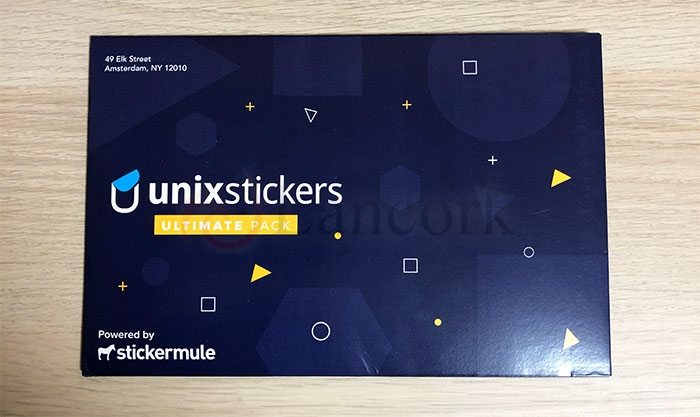 Sticker Mule 提供の Unixstickers アルティメット・パック