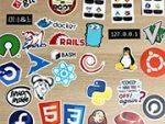 Sticker Mule 提供の新しい Unixstickers を購入してみた