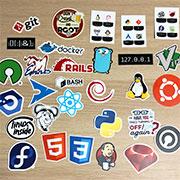 Sticker Mule 提供の Unixstickers