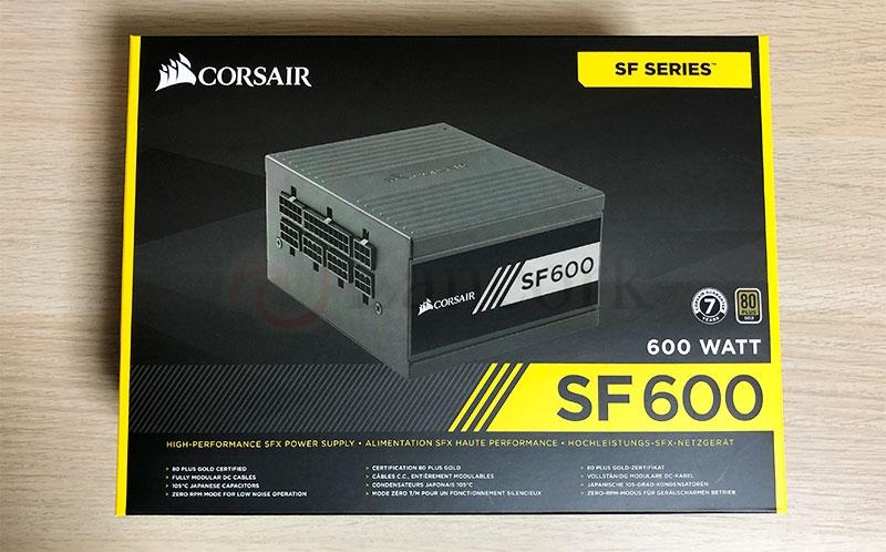 CORSAIR SF600 パッケージ