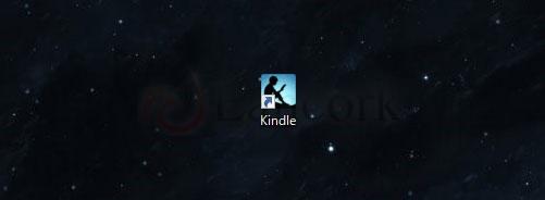 デスクトップのKindleアイコン