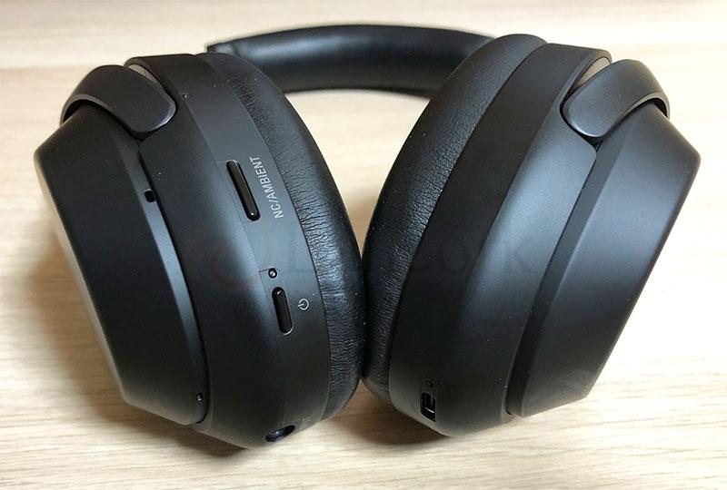SONY ワイヤレスノイズキャンセリングヘッドホン WH-1000XM3 電源