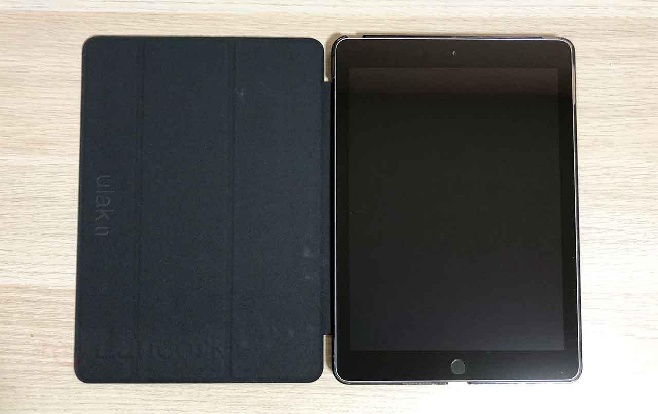 ULAK iPad 9.7 2017 / 2018 ケース 装着