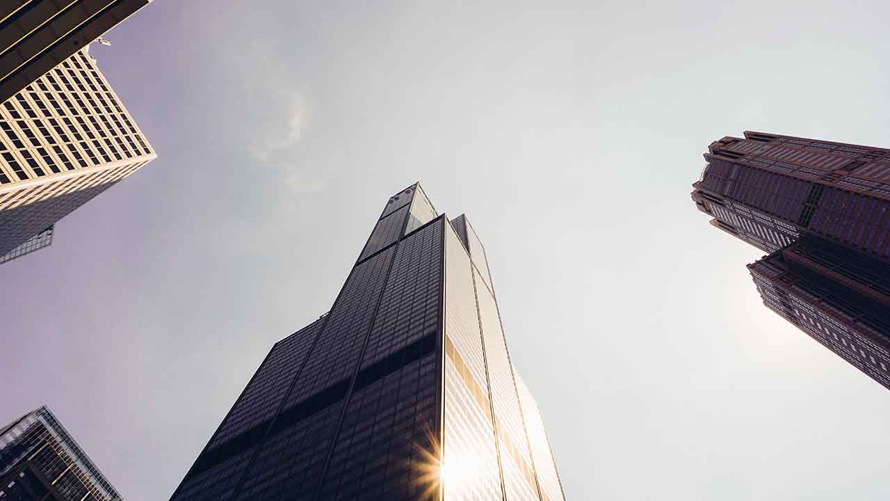 高層の建物