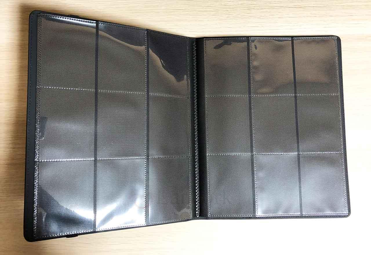 Ultra Pro Premium PRO-BINDER Padded Leatherette カードポケット