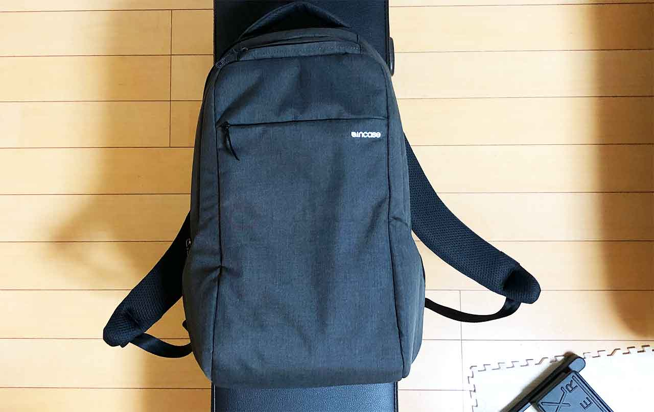 incase ICON Slim Backpack woolenex 全体2