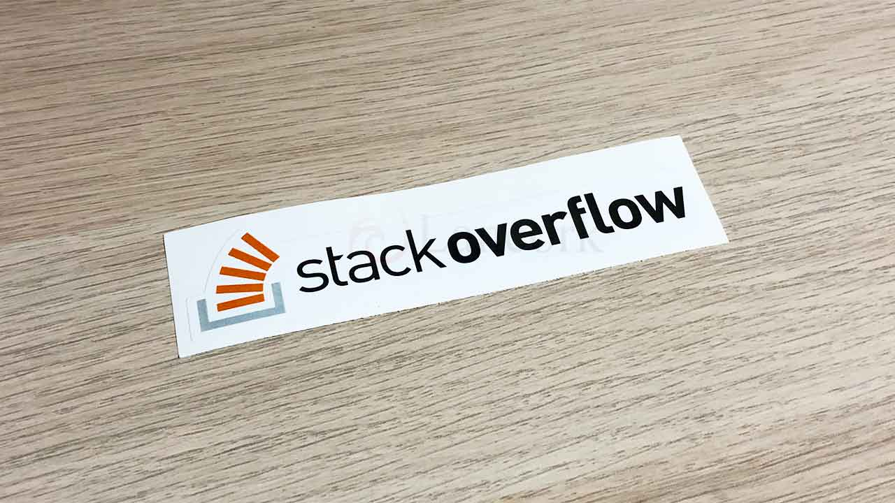 Stack Overflow のステッカー