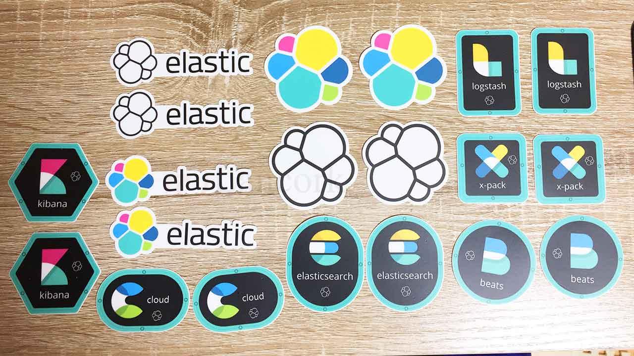The Elasticsearch Shopで買ったステッカー