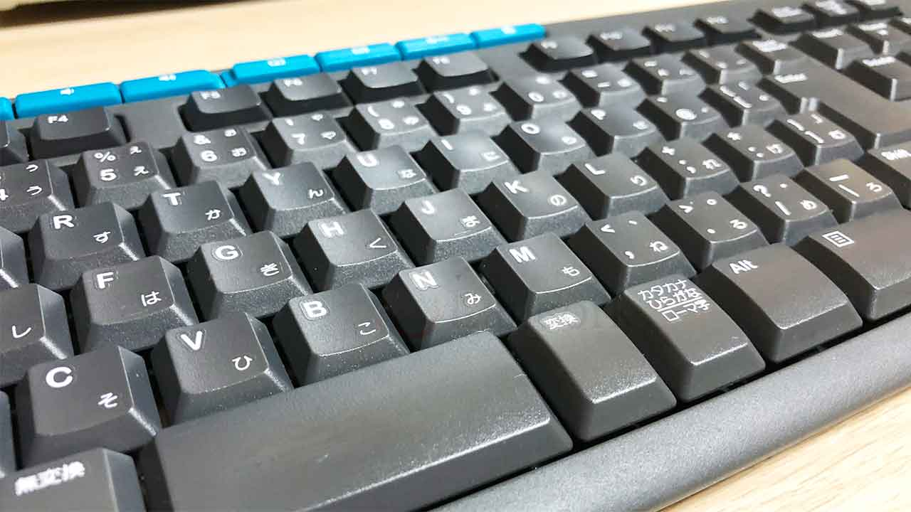 ロジクール ワイヤレスキーボード「K275」拡大