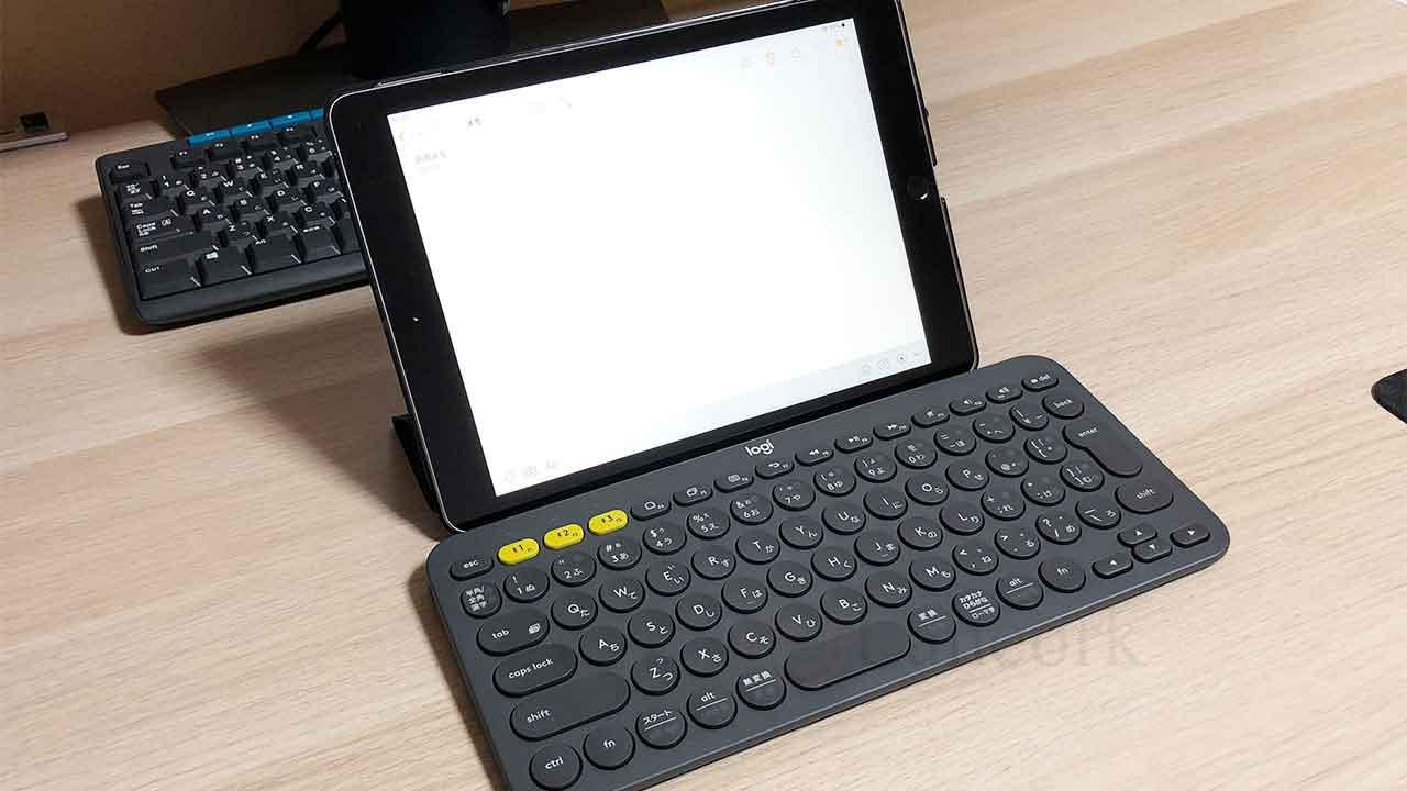 ロジクールのキーボード K380 とiPad