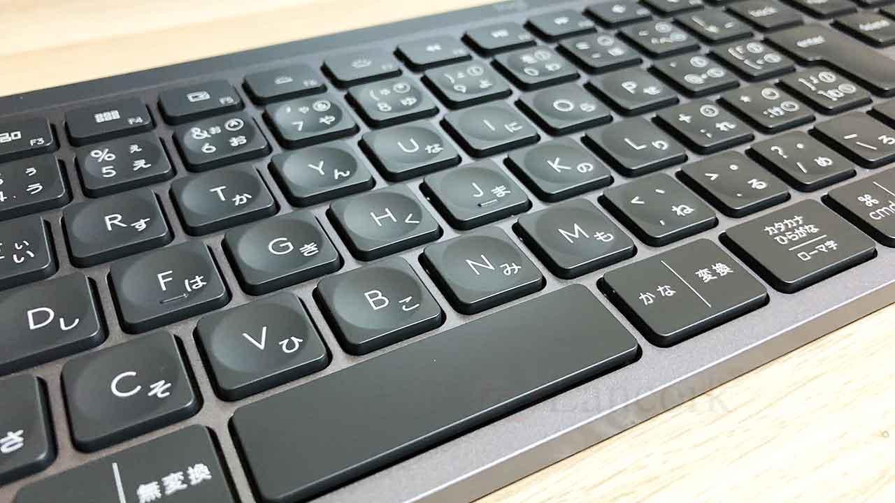 ロジクールのキーボード「KX800 MX Keys」拡大