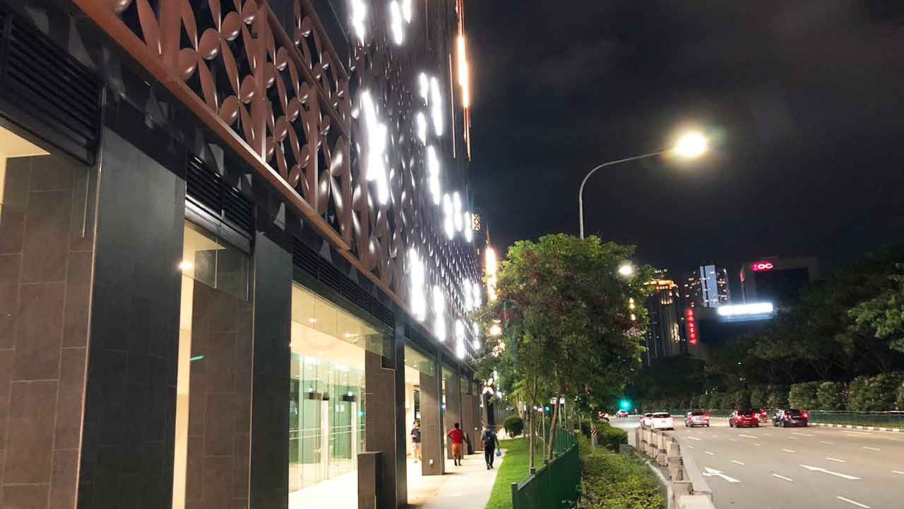 シタディーン ローチョー シンガポール外観