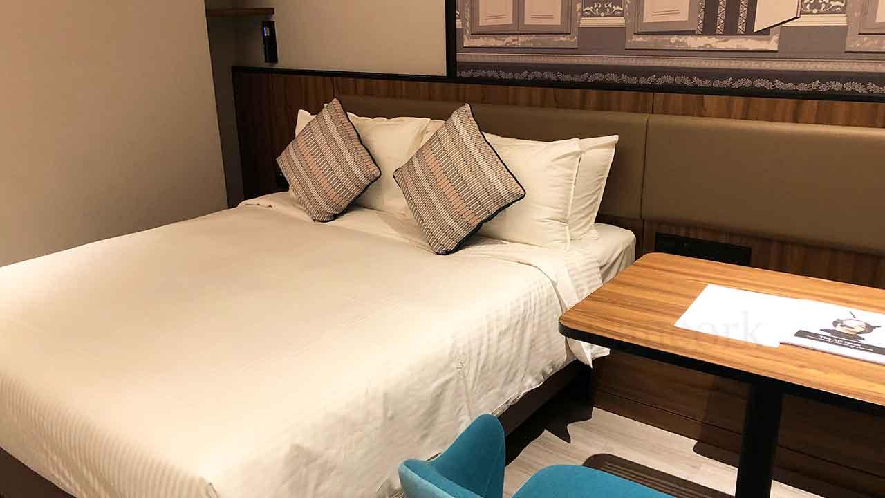 シタディーン ローチョー シンガポール ベッドルーム
