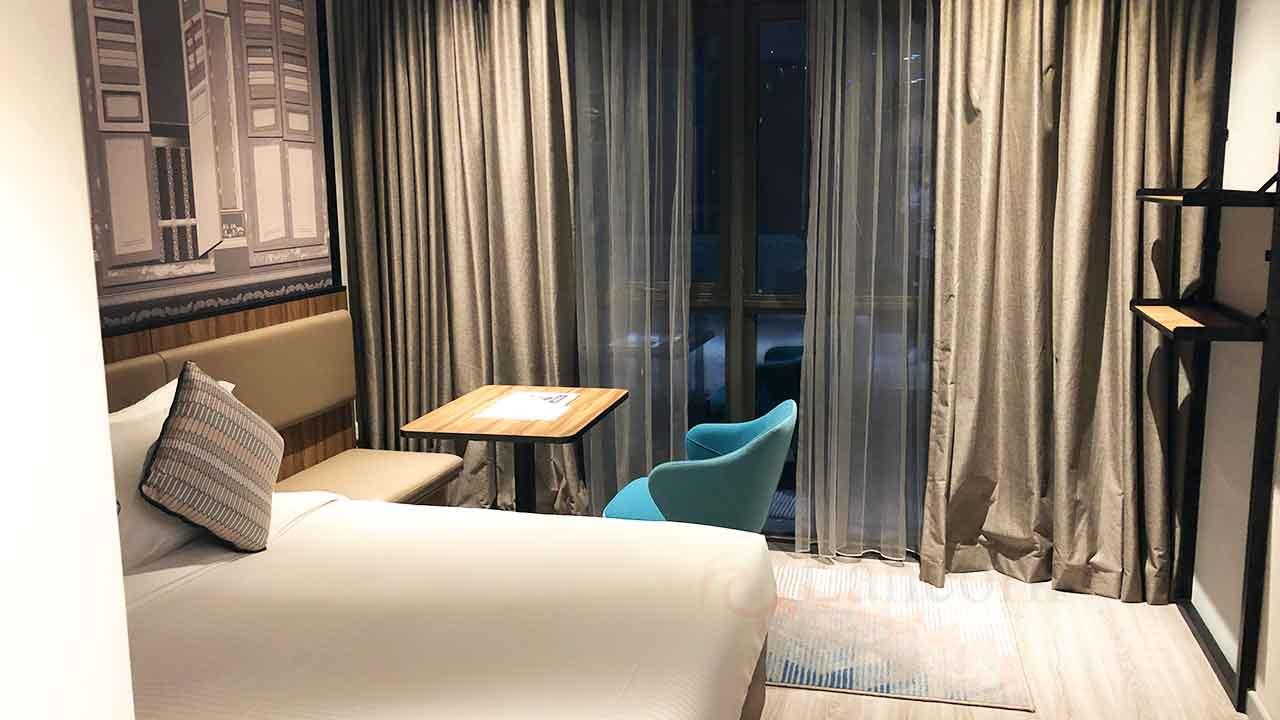 シタディーン ローチョー シンガポール ベッド