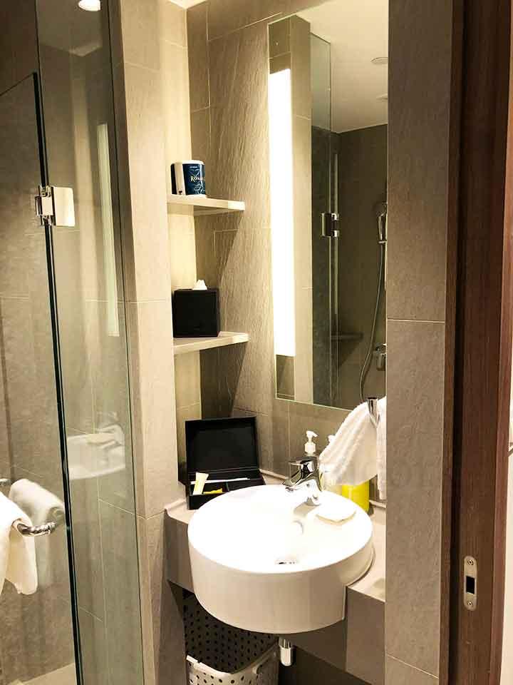 シタディーン ローチョー シンガポール 洗面所