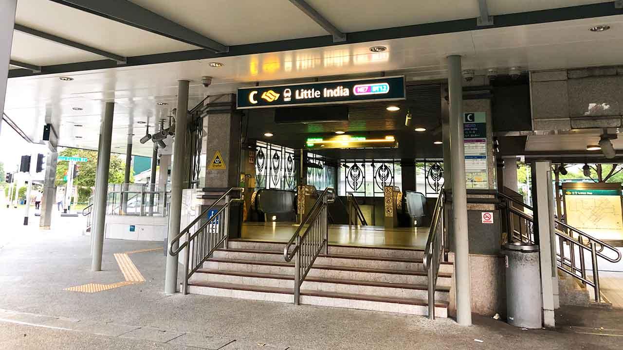 シタディーン ローチョー シンガポール Little India 駅