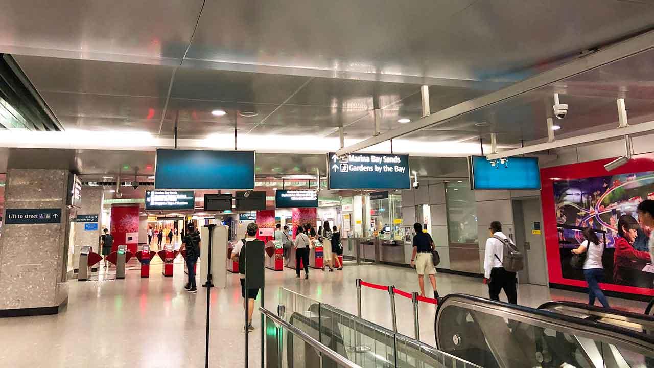 シタディーン ローチョー シンガポール ベイフロント駅
