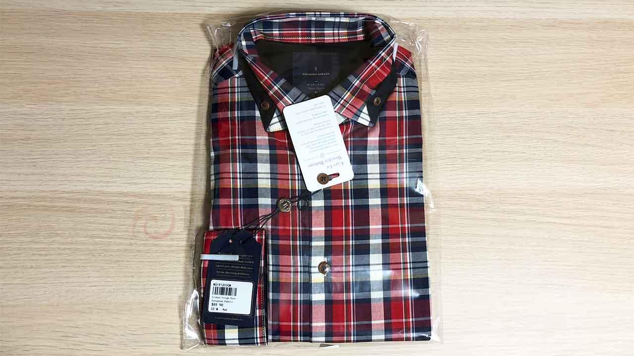 Benjamin Barker(ベンジャミンバーカー) チェックシャツ