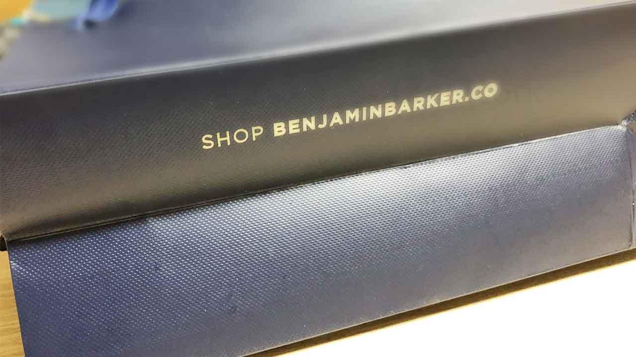 Benjamin Barker(ベンジャミンバーカー) ショップ袋