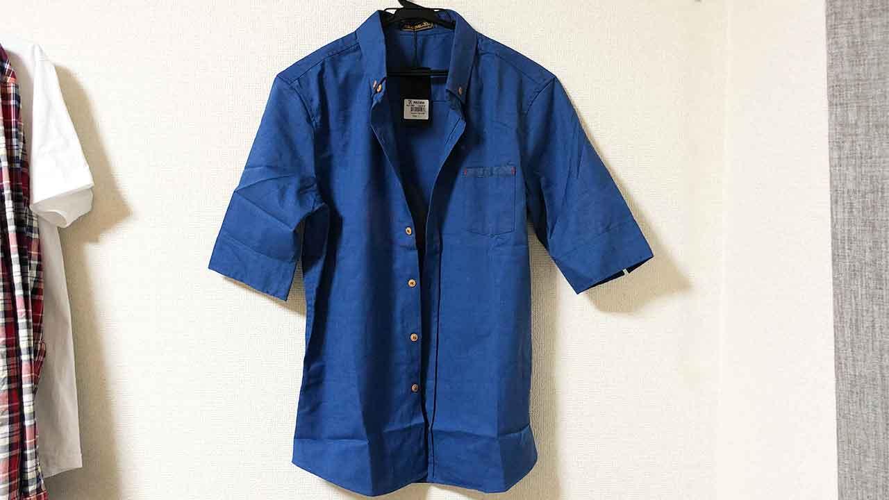 シンガポールのローカルブランド「RECOIL」の5分袖シャツ