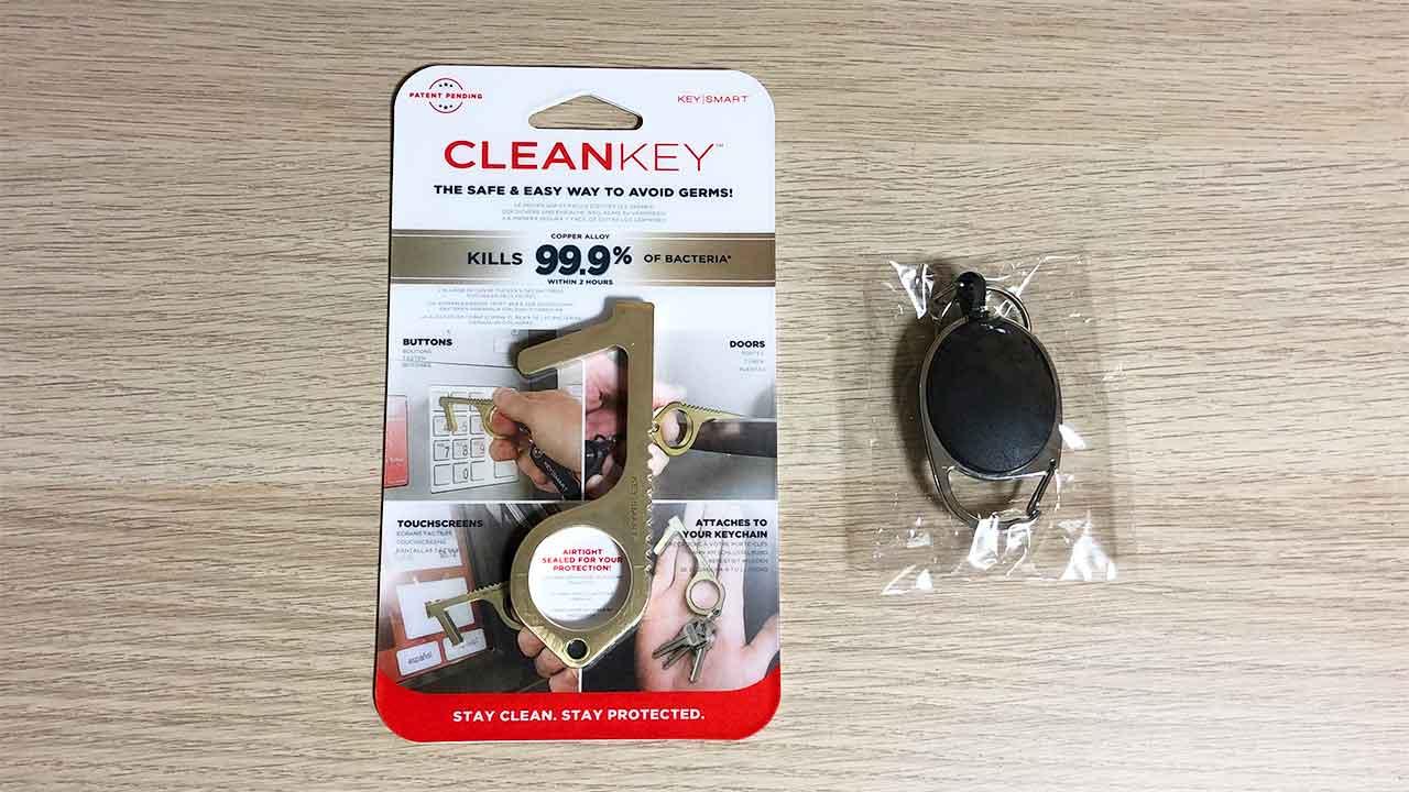 KeySmart CleanKey パッケージ
