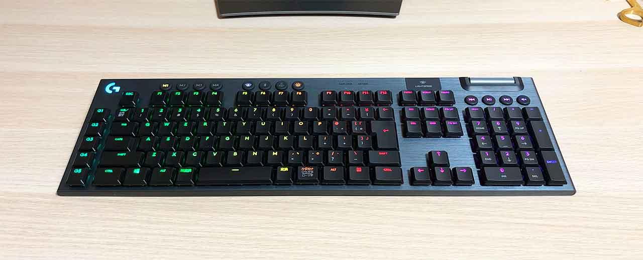 ロジクールのキーボード「G913」