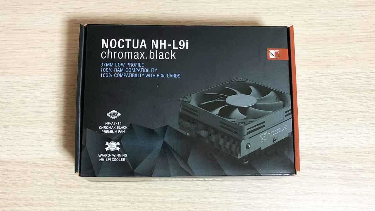 Noctua NH-L9i chromax.black パッケージ